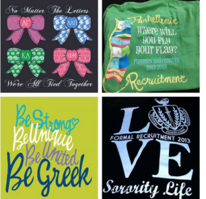 Bid Day Themes From A to Z