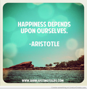 Aristotle Inspirational Quote