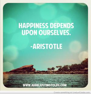Aristotle Inspirational Quote