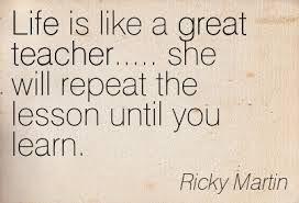 Some Ricky Martin wisdom! #quotes #inspiration