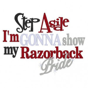 Go Hogs Razorback