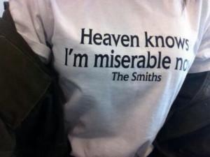 blouse white t-shirt the smiths quote on it shirt tumblr tumblr girl ...