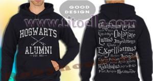 ... Logo Hogwarts Alumni Quotes Favorite Design Unisex Pullover Hoodie