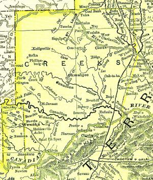 Tribal Jurisdiction Area