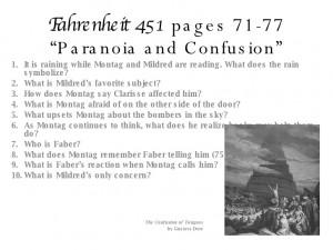 Fahrenheit 451 Part Ii Questions 97 2003