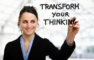 Get a different Perspective: Businesswoman Writing A Motivational ...