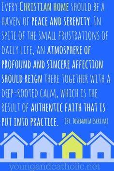 Saint Josemaria Escriva quote on the