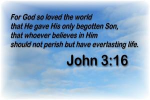 Bible Quotes John 3 16