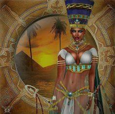 nubian queen more art african egyptian queens beautiful black power ...