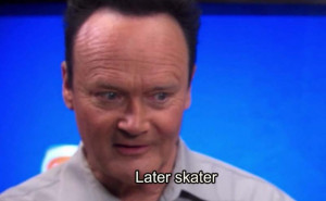 Creed Bratton // I'm like this close to starting the entire series ...