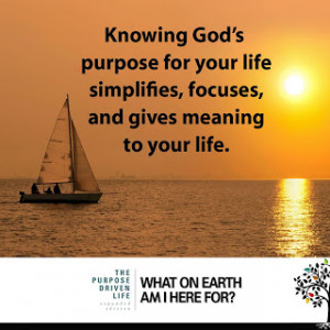The Purpose Driven Life Quotable Quotes