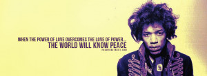 Power of Love Jimi Hendrix Photo Quote Jimi Hendrix Psychedelic ...