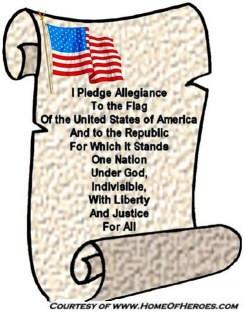 Christian Pledge of Allegiance