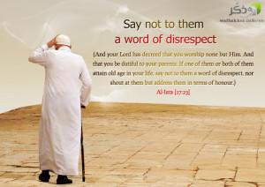 disrespect parents quotes