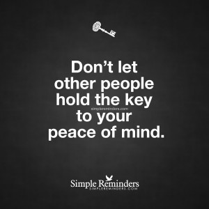 Your peace of mind by Unknown Author