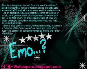 Emo,Emo Poems