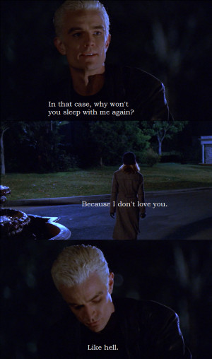 ... : welcometosunnydale #Spike #Buffy #Spuffy #Entropy #Vampire Slayer