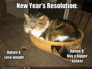 New Year's Resolution? Funny you mention that…