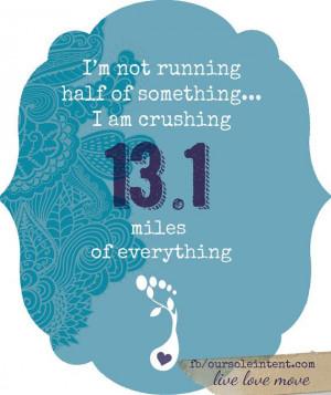 Half Marathon Inspirational Quotes