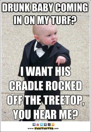 Baby Turf Wars Not So Cute