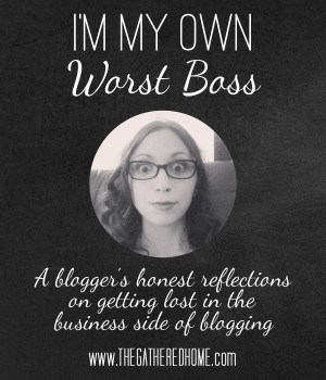 My Own Worst Boss: A DIY blogger spills her guts about ambition ...