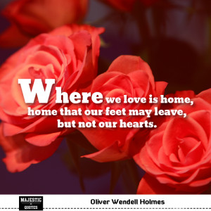 Quotes about love / famous love quotes with pictures - Oliver Wendell ...