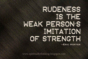 Hate Rude People Quotes I hate rude pe