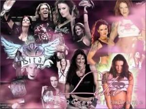 WWE Lita Background Image