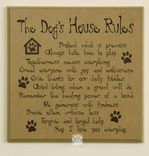 ... dog cat toys cat treats cat supplies the dog s house rules plaque
