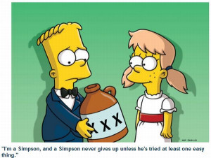Funny Bart Simpson pictures and quotes