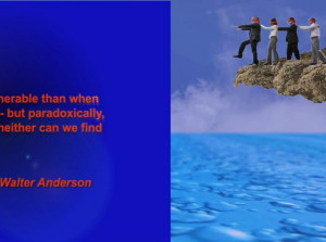 Interpreting A Walter Anderson Quote: Love and Trust