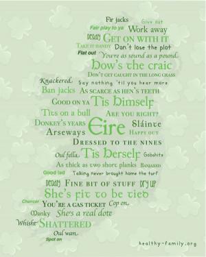 Irish Sayings Pictures