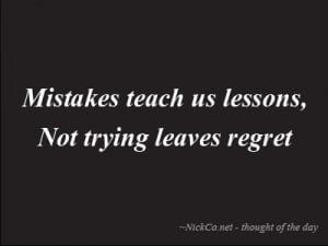 quotes about living life to the fullest with no regrets