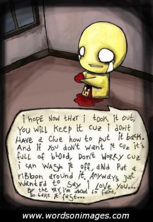 Cute emo love quotes