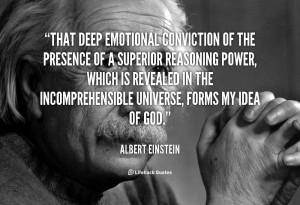 Deep Conviction Quotes