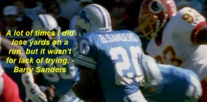 Barry Sanders quote 2