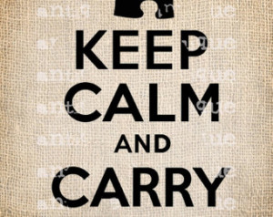 Keep Calm and Carry On Autism ASD P uzzle Quote Script Handwriting ...