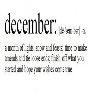 December Quotes And Sayings. QuotesGram