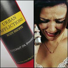 Shampoo Crazy Ex Girlfriend scent 8 oz bottle by UrbanAfflictions, $11 ...