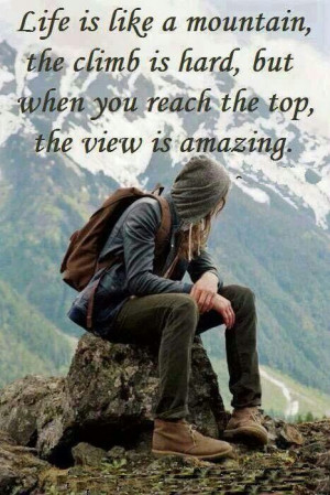 Reach the top anyway!