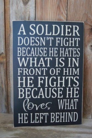 God bless our troops, their families, and everyone who loves them