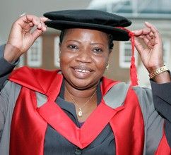 Fatou Bensouda Middlesex University London honorary degree