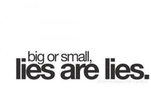 Liar, liar, liar.