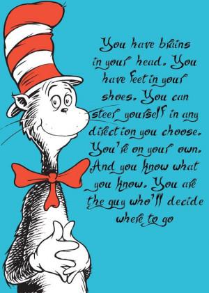 Quote, Graduation Quotes, Dr. Seuss, Seuss Graduation, Rooms Quotes ...