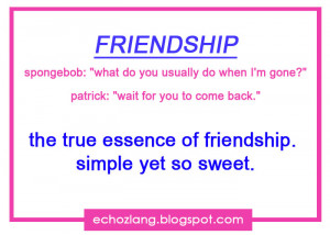 Quotes About Friendship Tagalog Sweet The true essence if friendship