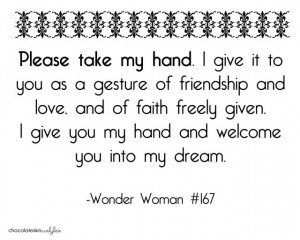 super hero love. #quotes #wonderwoman