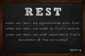 Rest! #Christian #Quotes #QOTD