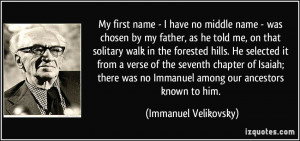 More Immanuel Velikovsky Quotes