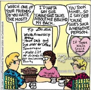 Backstabbing Cartoon