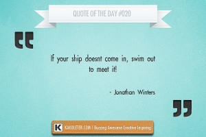 Quote Of The Day #020 Jonathan Winters